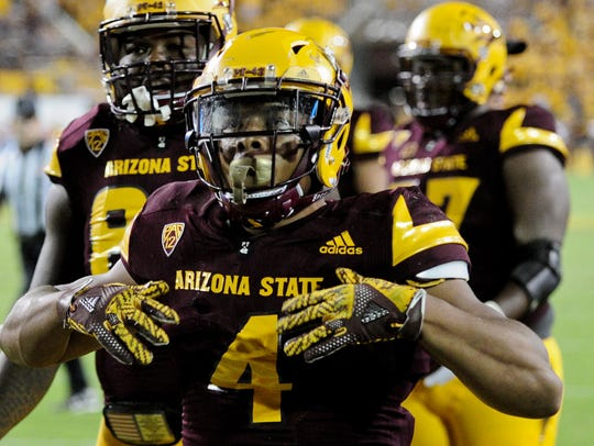 Arizona State Sun Devils running back Demario Richard.
