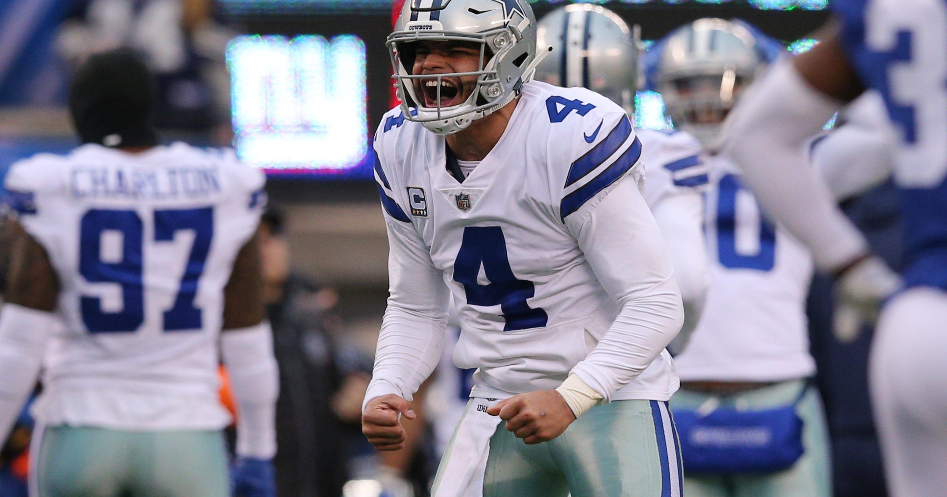 0d551a0fc78 Dak Prescott rolls into second postseason with Cowboys, unlike first
