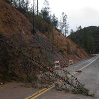 Rain, winds topple trees, cause damage in Redding