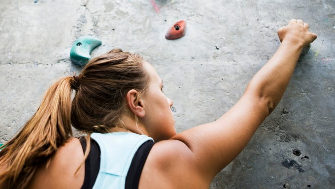 Rock wall climbing is one of many interactive aspects to the Mesilla Valley Outdoor Expo, set for Saturday and Sunday the Las Cruces Convention Center.