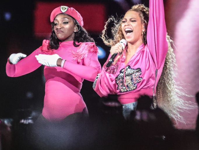 BeyoncŽe was back in Indio, Calif., for weekend 2 of