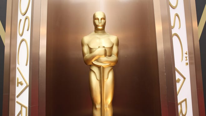 An Oscar at the Dolby Theatre in Los Angeles.