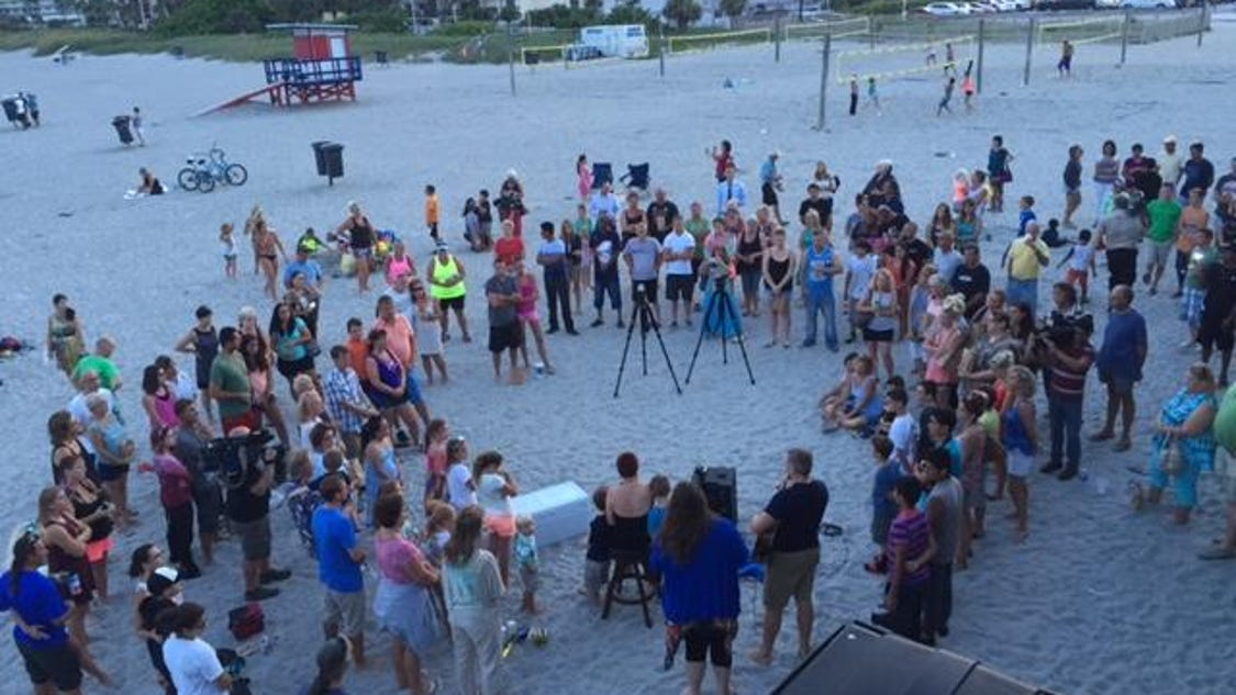 Cocoa beach vigil gathers for missing florida boys