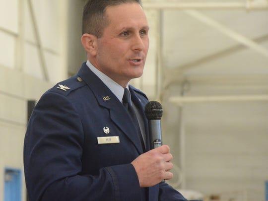 Colonel Bryan Teff