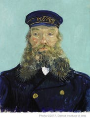 """Portrait of Postman Roulin,"" Vincent van Gogh, 1888,"