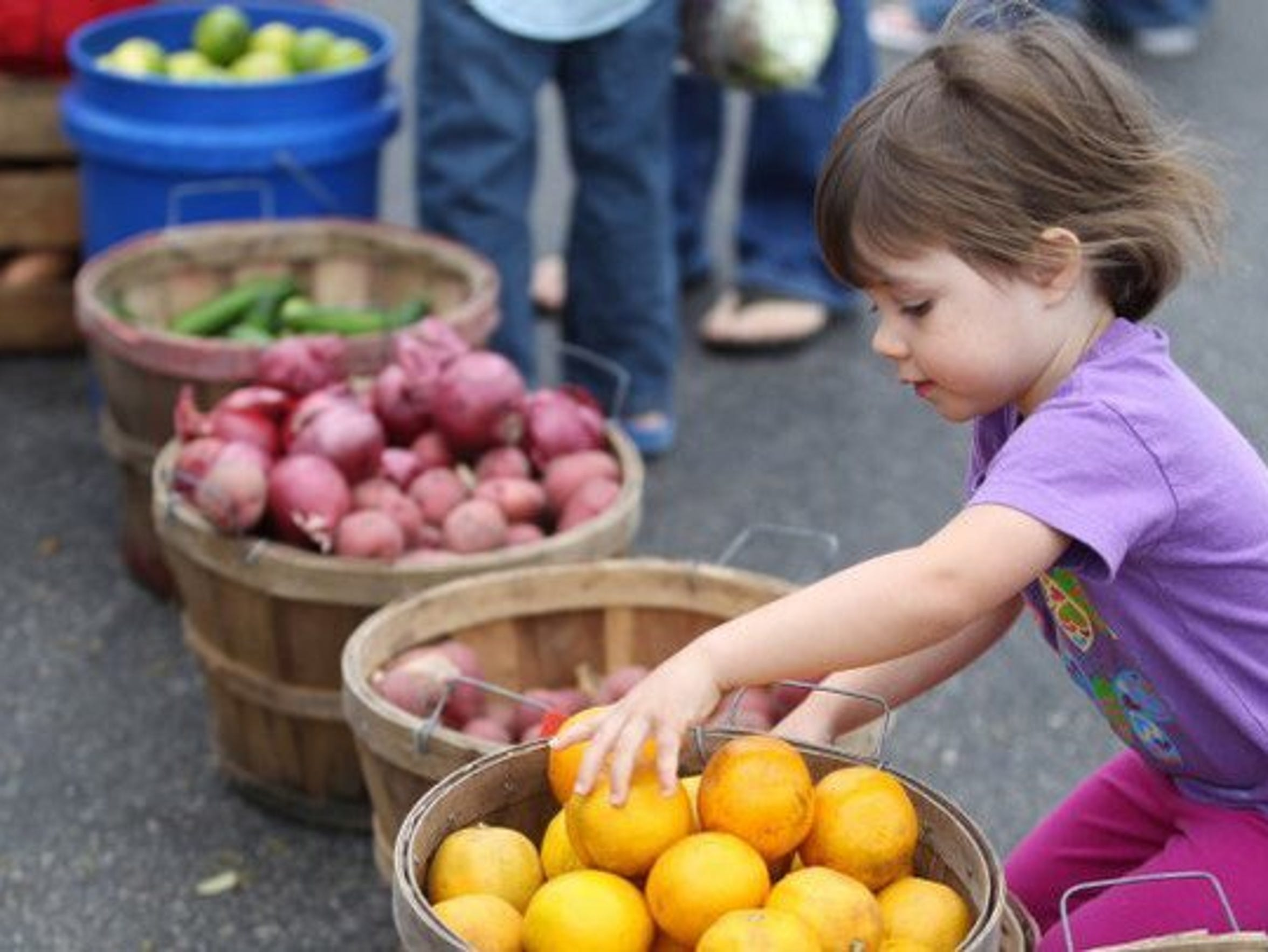 The Southside Farmer's Market is from 9 a.m. to noon