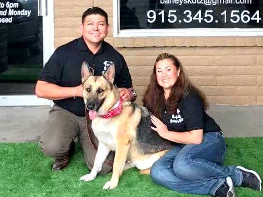 Adrian and Patricia Perez opened Barley's Kutz Grooming & Boutique shop July 20 in East El Paso.