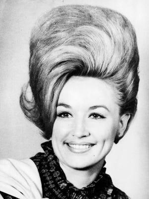 Dolly Parton in a 1967 photo.