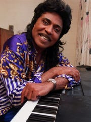 Singer-pianist Little RIchard, seen in 1999.
