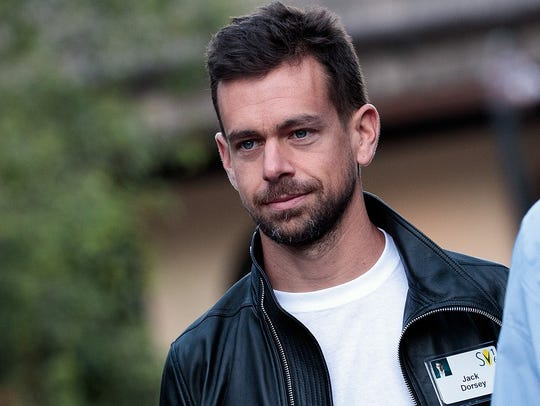 Jack Dorsey, co-founder and CEO of Twitter, attends the annual Allen & Company Sun Valley Conference on July 6, 2016, in Sun Valley, Idaho.
