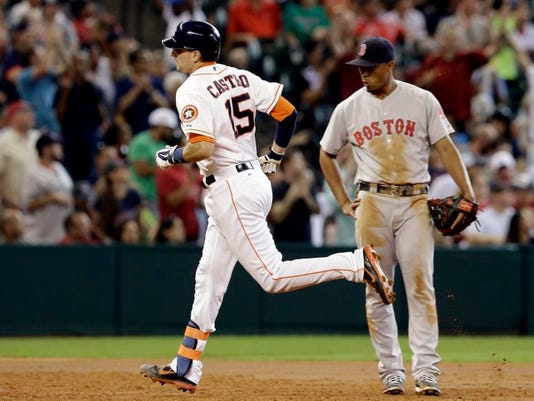 Red Sox Astros Baseball