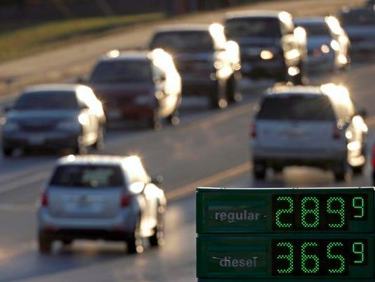 Gasoline Prices Rising