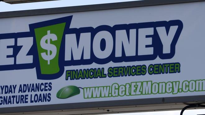 Payday loans , July 17, 2013. (Elisha Page / Argus Leader)