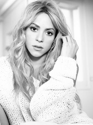 Pop star Shakira.