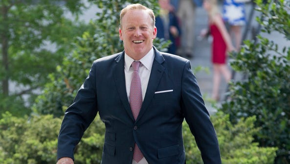 Will outgoing White House press secretary Sean Spicer