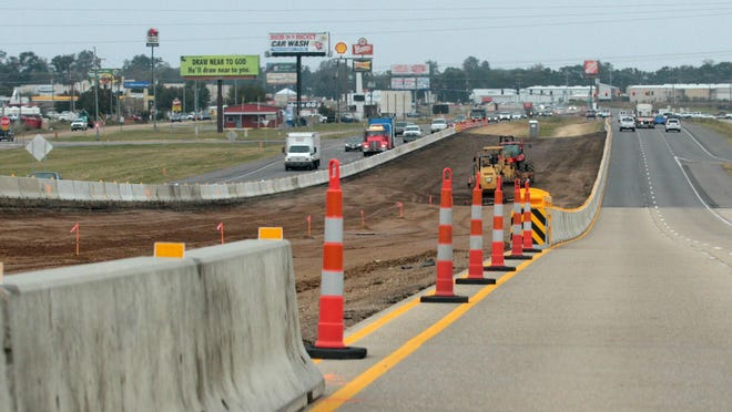 Advertiser file photo U.S. Highway 90 in Broussard is part of the route that will become Interstate 49 South. U.S. Highway 90 in Broussard is part of the route to become Interstate 49 South. Road construction along US Hwy. 90 in Broussard is pictured Thursday, November 13, 2014.