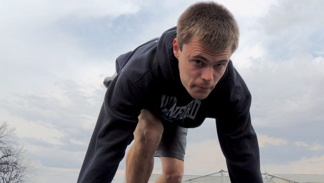 Two-time state qualifier Cole Fortner of Wynford is chasing down his dreams of becoming the fastest Wynford Royal ever.