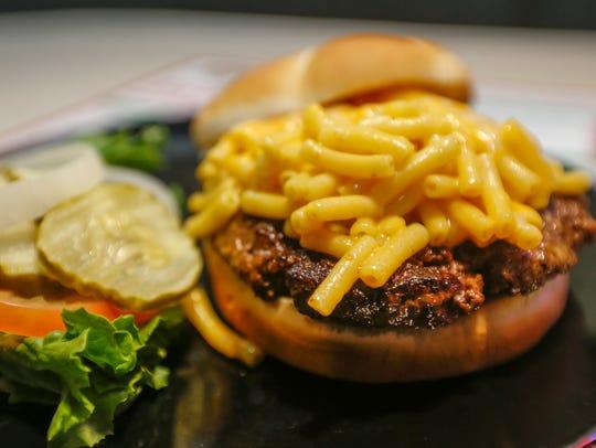 """Bair's is offering the """"Jake Burger"""" Mac 'N Cheese"""