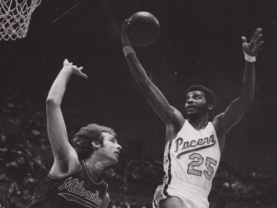 Pacers high-scoring guard Billy Knight.