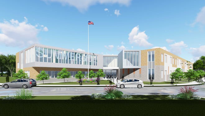 A rendering of the new Summerside Elementary School in West Clermont School District.