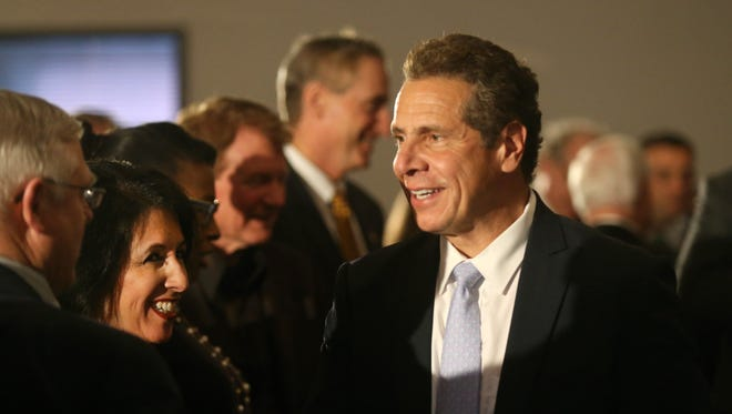 New York Gov. Andrew Cuomo, stopped in Henrietta to announce that Charter was creating a regional headquarters there that will bring 250 new jobs and retain 500 jobs in the Rochester area.