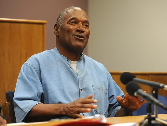 USP NEWS: O.J. SIMPSON PAROLE HEARING A USA NV