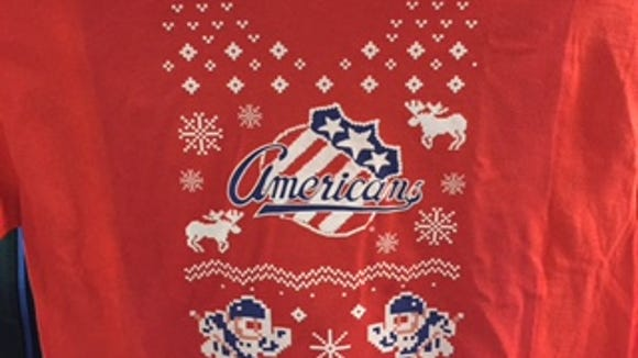 """The """"ugly Christmas sweater"""" T-shirt now on sale at"""