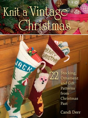 This book has 22 original but nostalgic patterns for knitted Christmas decorations