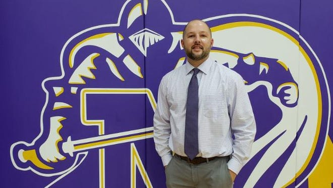 Former North Henderson High basketball standout Andrew VunCannon, a North 2001 graduate, is now the school's athletic director.