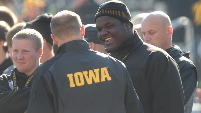 Juan Harris, currently an Iowa recruit, is the No. 1 junior in the state, according to Rivals.com and 247Sports. He's been rated as a four-star college prospect on a five-star scale.