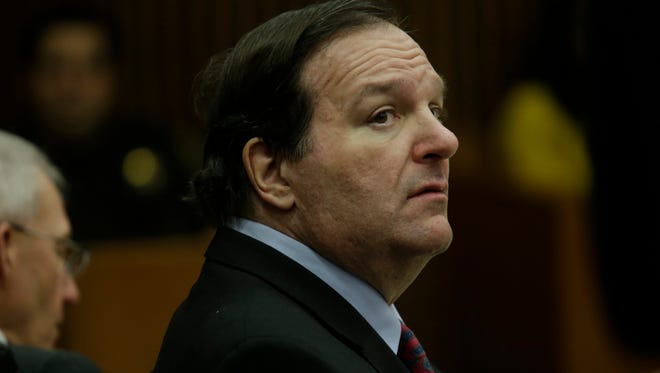 Bob Bashara in court on Wednesday, Nov. 5, 2014.