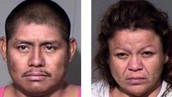 Carlos Tercerro Cruz and Rosemary Velazco await trial