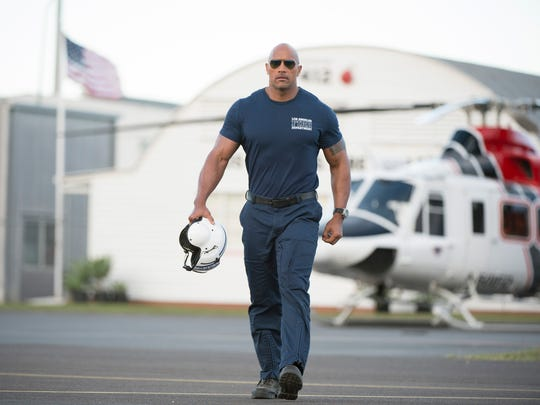 Dwayne Johnson stars as helicopter rescue pilot Ray