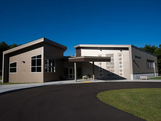 Temple Israel was rebuilt after snow collapsed the roof of the previous building in December 2013.