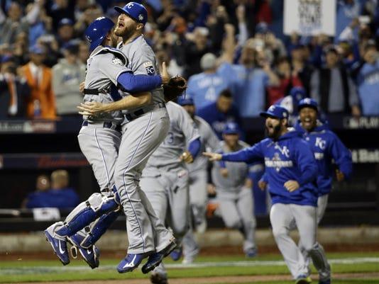 Kansas City Royals win World Series