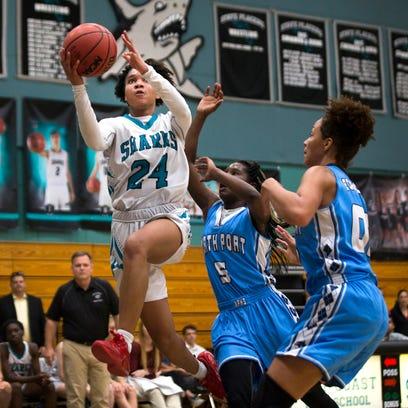 Prep girls basketball: Marina Hodo's big bench game sparks Gulf Coast rout in regional semis