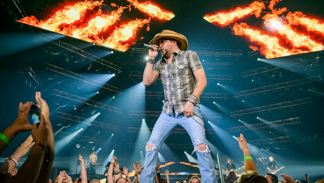 Jason Aldean will perform at 7:30 p.m. June 26 at Isleta Amphitheater, in Albuquerque. Special guests Thomas Rhett and A Thousand Horses will perform. Tickets range in price from $30.75 to $70.75 plus fees and are available through Live Nation, www.livenation.com and 800-745-3000.