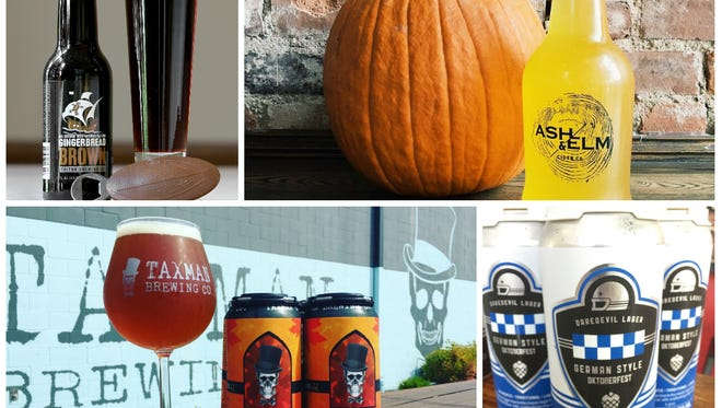 Fall craft beers from Indiana breweries.