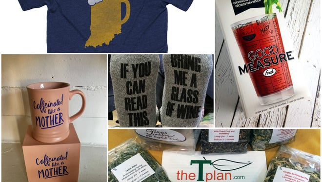 Gift ideas for lovers of craft beer, wine, cocktails, coffee and tea.