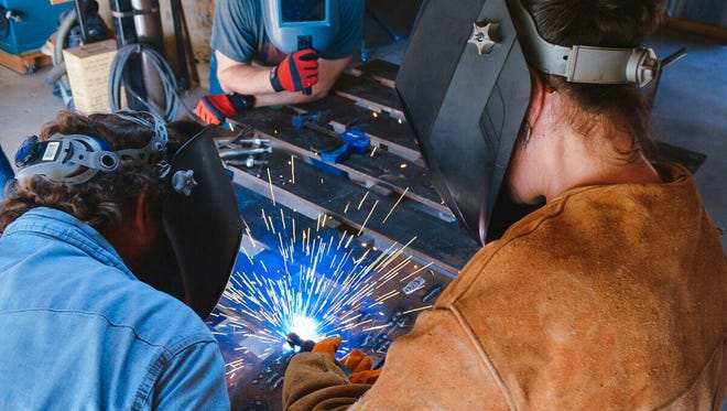 A welding workshop in Austin is one of the local experiences retailer West Elm will offer.