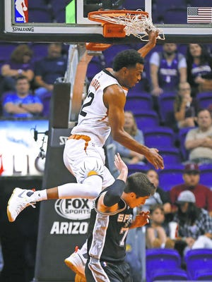 T.J. Warren has been a pleasant surprise for the Suns this season.