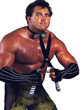 """Wrestler Brutus """"The Barber"""" Beefcake will sign autographs at the grand opening of Springfield's new Hillbilly Paradise on April 21."""