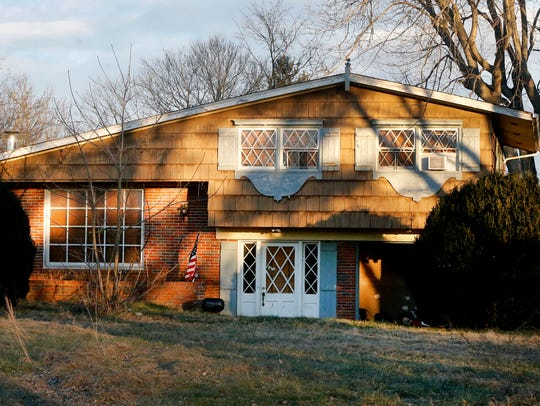 The home at 2887 Barfield Road was one of the highest