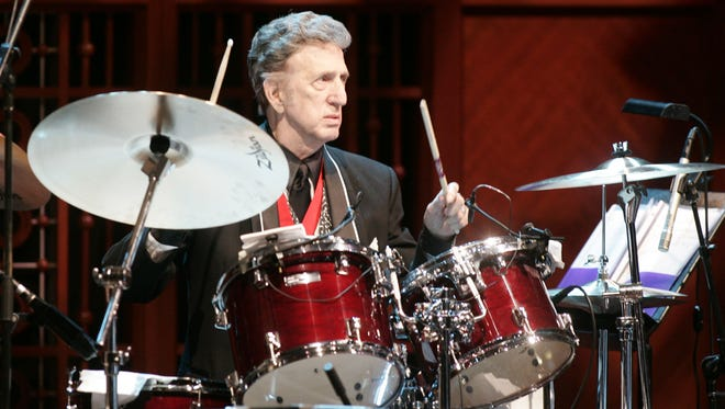 D.J. Fontana spent 14 years playing drums for Elvis Presley. He also worked with everyone from Red Sovine to Ringo Starr.