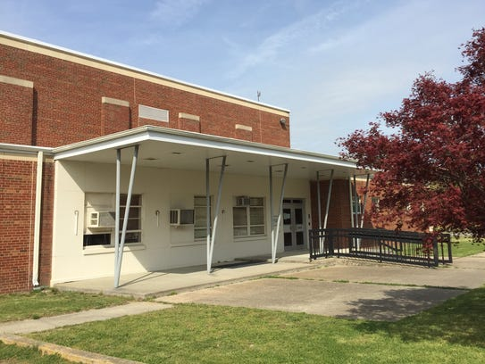 The Virginia National Guard Armory in Onancock is located