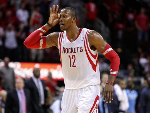 Dwight Howard is with the Rockets now, but that came amid a long journey. Flip through this gallery to see how the superstar center landed in Houston..