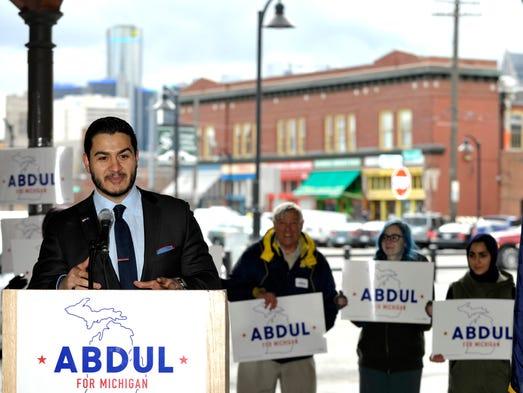 Former Detroit Health Department director Dr. Abdul