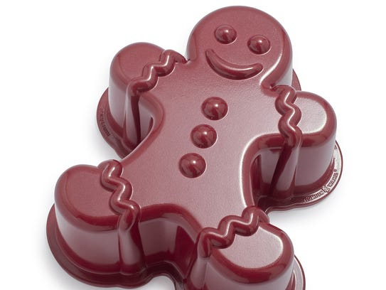 Nordic Ware's gingerbread pan is a fun addition to