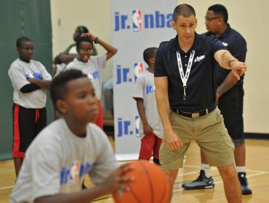 JUNIOR NBA CLINIC IN CHICAGO