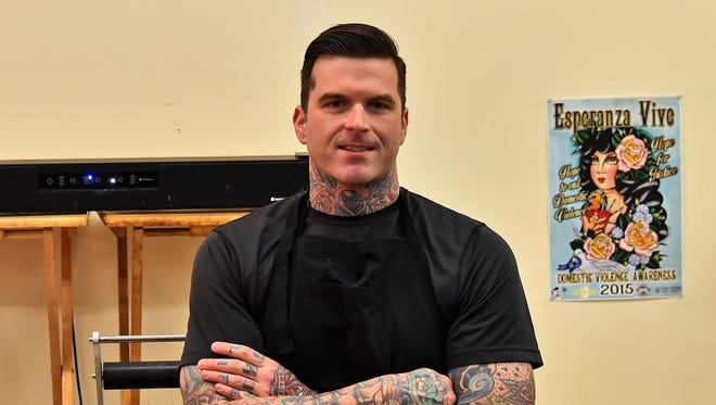 Benjamin David started Anchors Aweigh Hair Co. in 2013.